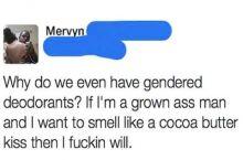 Smell good af