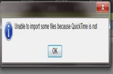 Quicktime isn't