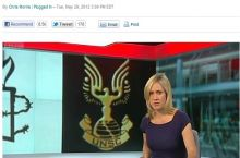 BBC used halo UNSC logo instead of UN in 2012.