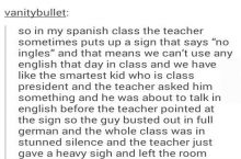 No Ingles