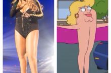 Mariah Carey looks familiar