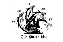 Piratebay's new logo just a few hours after their .se domain was seized
