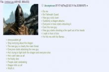 Anon is a Falkreath guard