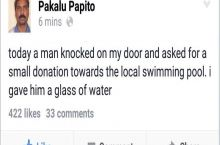 Pakalu never stops giving