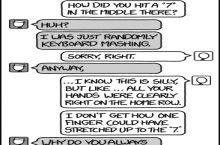 xkcd: Keyboard Mash