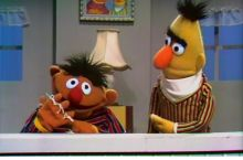 Ernie enjoys the suffering of others