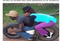 When ur broke