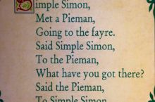 Simple Simon...
