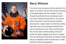 Astronaut Barry Wilmore