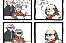 Benjamin Franklin would be proud.