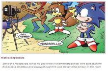 F*cking dammit Sonic