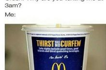 THIRST HAS NO CURFEW