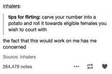 Flirting tip