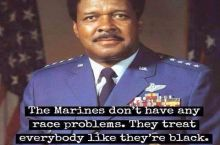 The Marines don't have a race problem