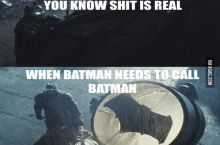 Sometimes Batman Needs Help