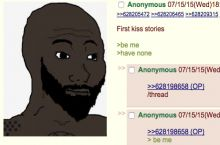 First kiss stories