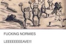 f*cking normies
