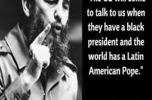 Castro: America will never talk to us! Me:Wanna bet?