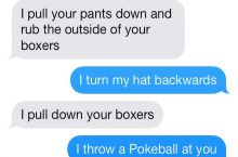 Sexting in the poke world