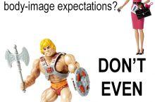 Unrealistic Body-Image Toys