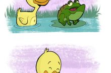 Duck wants to get high