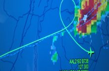Pilot noped out of storm from Chicago to DC