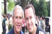 George Bush and Jared Fogle