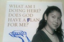 All part of god's flan