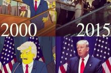 I think the campaign staff watches The Simpsons
