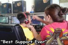When you feed in game while your mom feeds you IRL