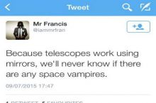 The problem with telescopes