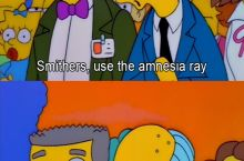 Use the amnesia ray