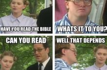 Bubbles always knows just what to say