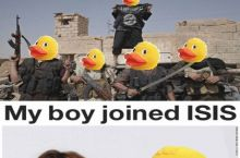 4chan photoshops terrorists into rubber ducks