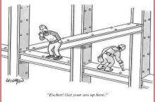 Escher really stepped in it this time.