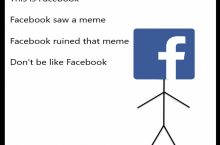 Don't be like Facebook
