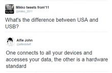 What's the difference between the USA and USB?