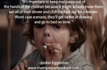 Children vs weed.