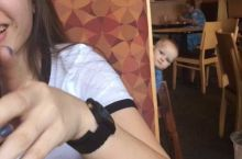 when you are out eating and the table next to you is being hella loud