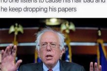 Get it together Bernie.