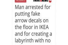 I Thought Every Ikea Was A Never Ending Labyrinth Anyway