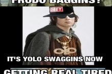 Brodo Swaggins And The Fellowship Of The Bling Yolo Swaggins